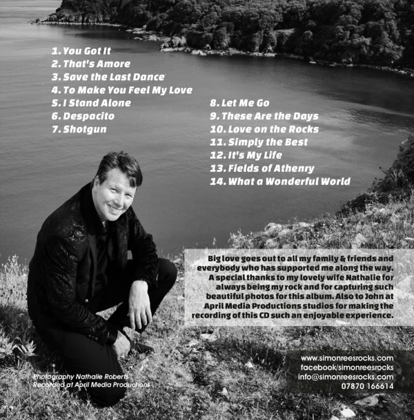 New Beginnings CD Simon Rees